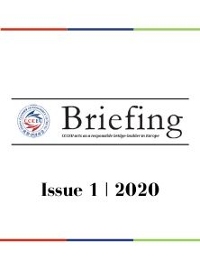 CCCEU Briefing - First Issue 2020