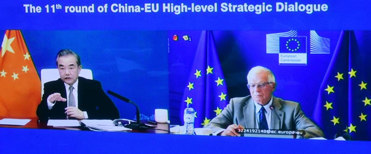 China, EU hold high-level strategic dialogue